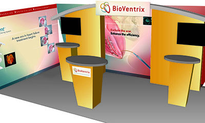 airt portfolio sample for Bioventrix medical devices